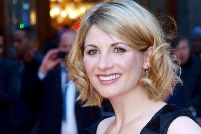 Jodie Whittaker, remarquée dans la série policière Broadchurch,... (Archives AFP, MAX NASH)