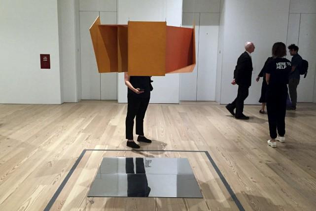Les oeuvres du Brésilien Helio Oiticica sont exposées... (AFP, Laura Bonilla)
