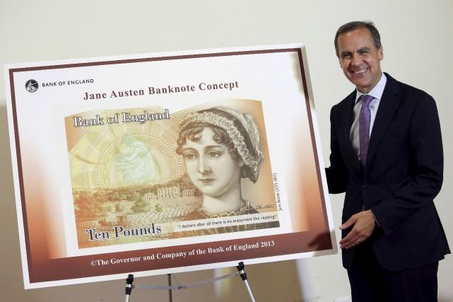 En 2013, le gouverneur de la Banque d'Angleterre,... (Archives AFP, Chris J. Ratcliffe)
