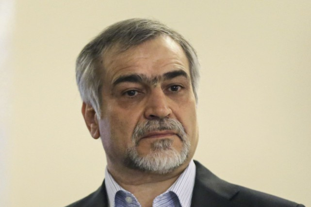 Le nom de Hossein Fereydoun, frère du président... (AFP, Atta Kenare)