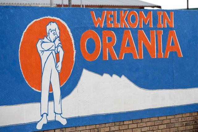 La ville d'Orania a été fondée dans les... (AFP, Stéphane de Sakutin)