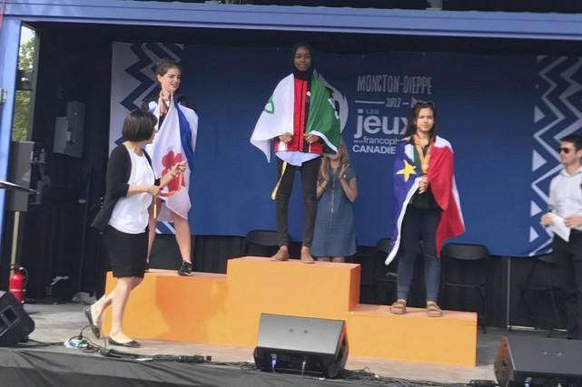 Koubra Haggar, d'Hamilton, a remporté la première place... (Courtoisie)