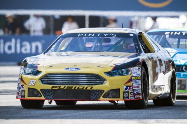 Alex Labbé a déploré des problèmes de traction... (Matthew Manor, NASCAR)