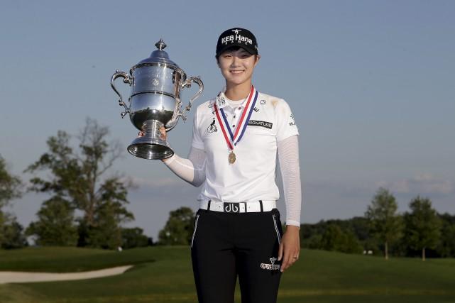 La Sud-Coréenne de 23 ans a remis une... (Associated Press)