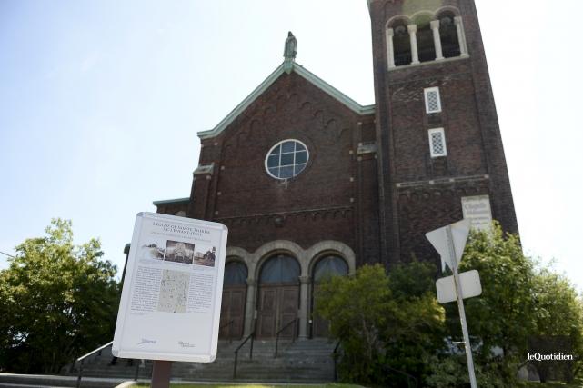 L'église Sainte-Thérèse «serait un lieu probable» pour un... (Photo Le Quotidien, Jeannot Lévesque)