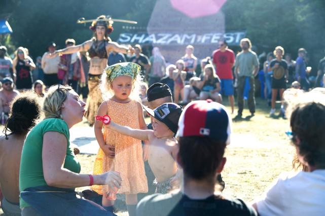 Les enfants se sont amusés tout autant que... (Spectre Média, Maxime Picard)