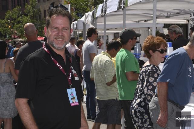 Le Festival des vins de Saguenay a accueilli... (Photo Le Quotidien, Michel Tremblay)