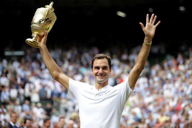 Roger Federer... (Photo Daniel Leal-Olivas, REUTERS)