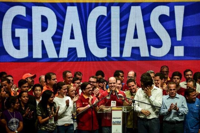 Encouragé par la forte participation et par le... (AFP, Ronaldo Schemidt)