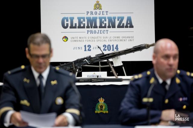 Le projet Clemenza, lancée en 2010contre les clans... (Photo David Boily, archives La Presse)