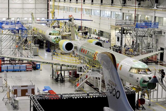 Bombardiera indiqué lundi que quatre avions étaient à... (PHOTO NATHAN DENETTE, ARCHIVES LA PRESSE CANADIENNE)
