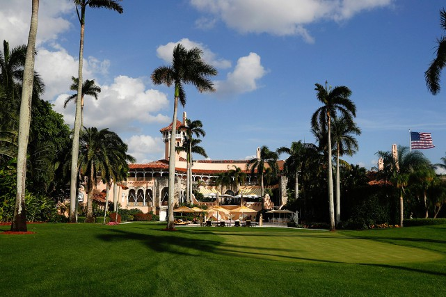 Donald Trump est propriétaire de Mar-a-Lago, un club... (PHOTO CAROLYN KASTER, ARCHIVES ASSOCIATED PRESS)