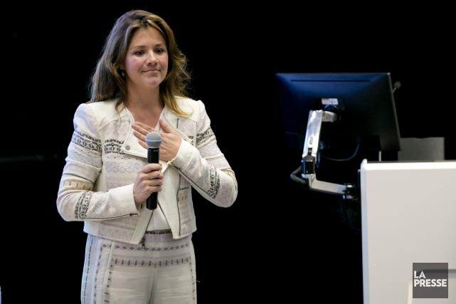 Sophie Grégoire a rappelé lors d'une conférence qu'elle... (Photo David Boily, archives La Presse)