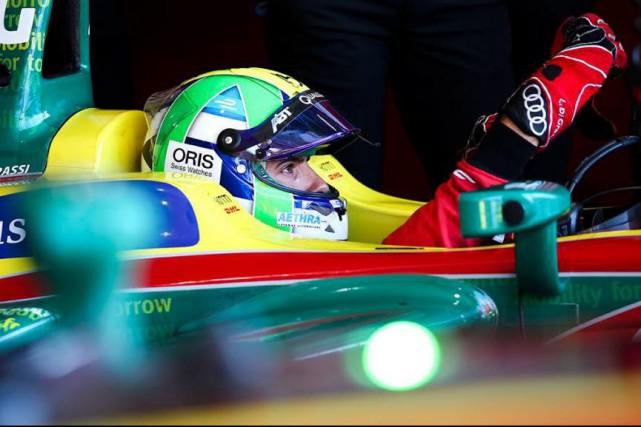 Le Brésilien Lucas di Grassi veut remporter les... (Photo tirée du compte Twitter@audisport)