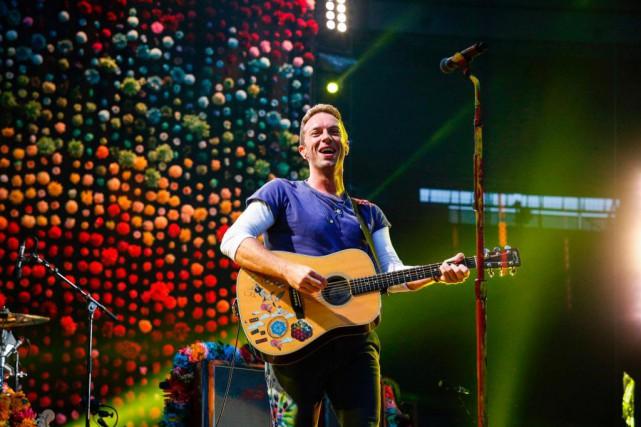 Coldplay était à Montréal mardi et mercredi soir.... (Archives, Agence France-Presse)