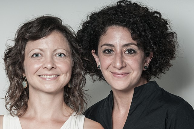 Maya Ersan, 38 ans et Jaimie Robson, 40... (Crédit Photo : Warioda)