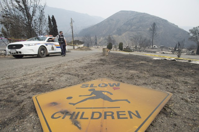 Depuis le 1er avril, 641 incendies ont détruit... (Photo La Presse canadienne)