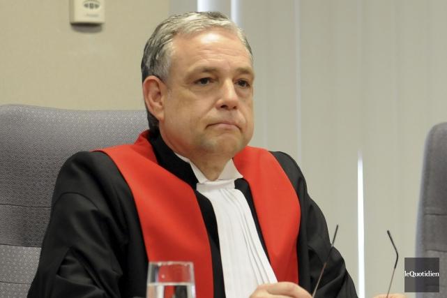 Le juge Michel Boudreault rendra la sentence vendredi.... (Archives Le Quotidien, Rocket Lavoie)