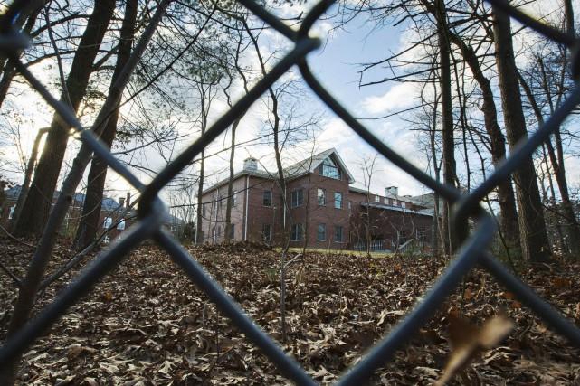 Cette résidence située à Oyster Bay, dans l'État... (ARCHIVES AP)