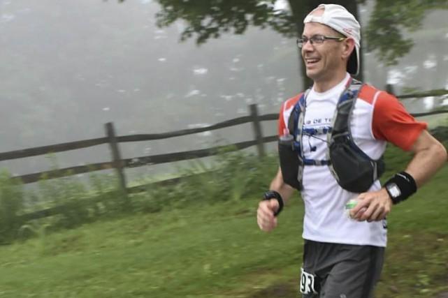 Sébastien Roulier a terminé quatrième à l'ultramarathon du... (Courtoisie Nancy Nutile McMenemy)