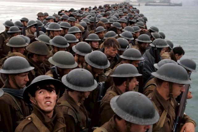 Dunkerque, de Christopher Nolan, reconstitue l'opération Dynamo, où... (Warner Bros.)