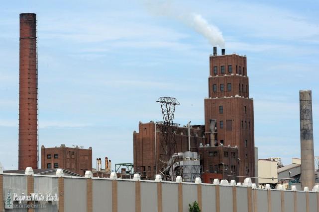 Au moment de la réouverture de l'usine Stadacona,... (Le Soleil, Erick Labbé)