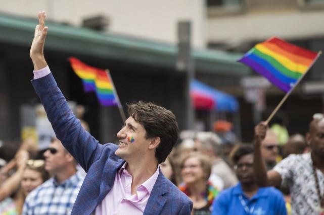 En juillet 2016, Justin Trudeau a participé au... (Photo Mark Blinch, archives AP)