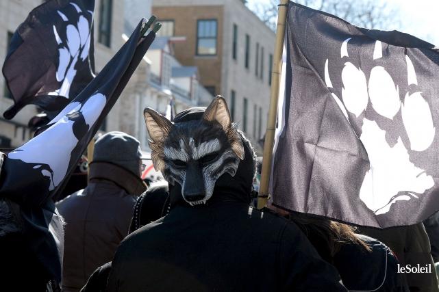 Dimanche prochain, deux manifestations sont prévues en après-midi... (Photothèque Le Soleil, Erick Labbé)