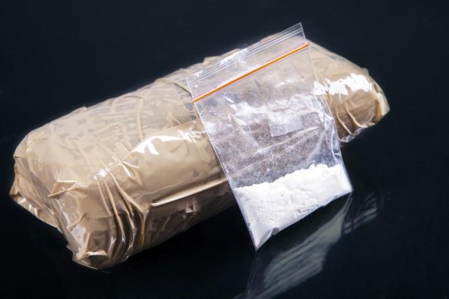 Une saisie de 57 kilogrammes de cocaïne découverts... (Photo Thinkstock)