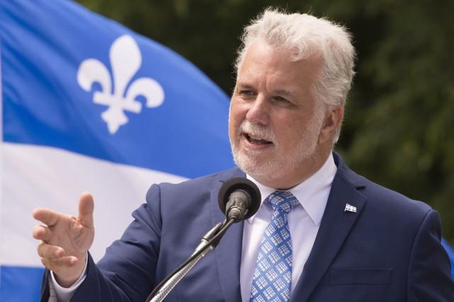 Le premier ministre du Québec, Philippe Couillard... (PHOTO ARCHIVES LA PRESSE CANADIENNE)