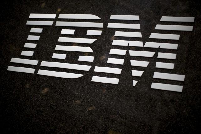 IBM prévoit maintenant réaliser un bénéfice de 13,80... (PHOTO ARCHIVES AP)