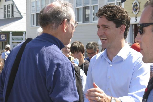Le premier ministre du Canada, Justin Trudeau, en... (Collaboration spéciale, Geneviève Gélinas)