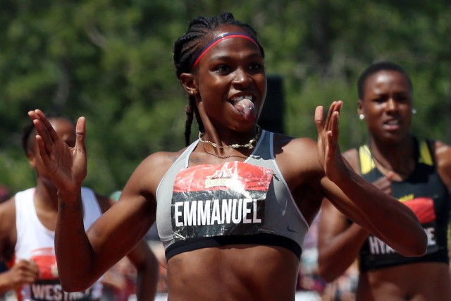 Crystal Emmanuel lors d'un tournoi à Ottawa, la... (PHOTO PC)