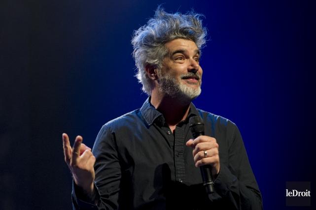 Réal Béland présente son spectacle Faire semblant.... (Martin Roy, Le Droit)