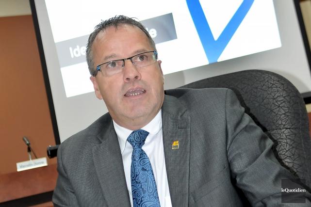 Le maire de Saint-Honoré, Bruno Tremblay, sera de... (Archives Le Quotidien, Rocket Lavoie)