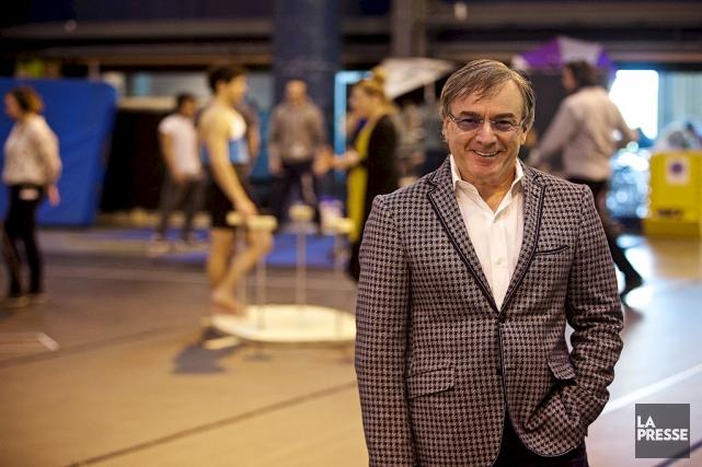 Daniel Lamarre, PDG du Cirque du Soleil.... (La Presse)