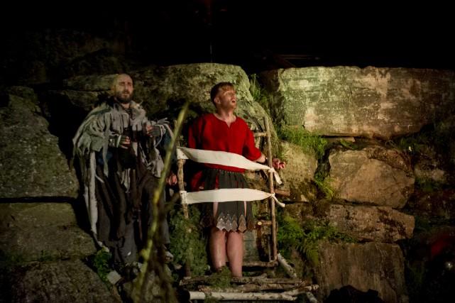 Le spectacle Merlin, l'origine d'une légende revient pour... (Sylvain Mayer)