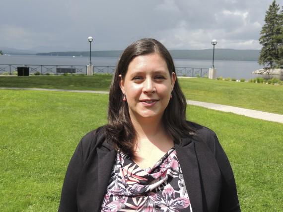 La conseillère municipale de Lac-Mégantic, Julie Morin, a...