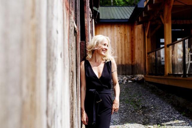 Nathalie Martin est propriétaire du Vignoble de Chelsea.... (Courtoisie)