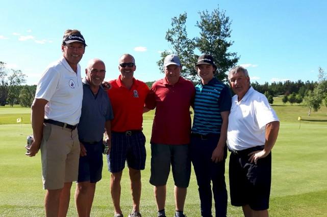 Louis Aubin, président de Golf Québec dans la... (Photo courtoisie)