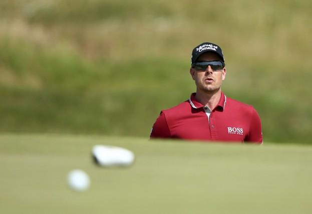Henrik Stenson veut conserver son titre de champion... (Archives, La Presse Canadienne)