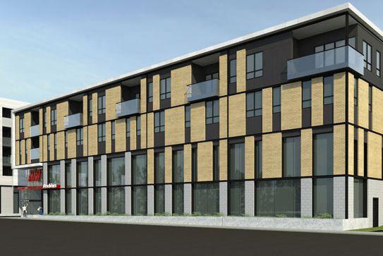 Le bâtiment comptera 5 étages. Un local commercial... (FOURNIE PAR ATELIER 21)