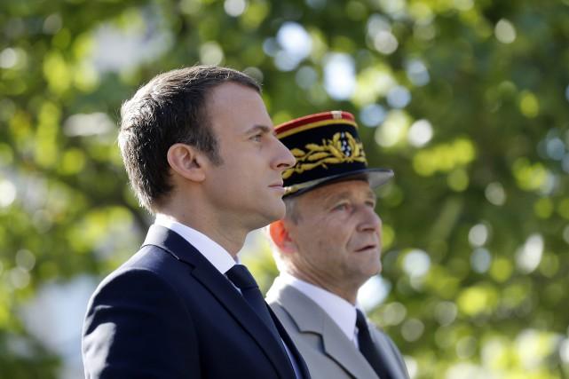 Le chef d'état-major des Armées françaises, Pierre de... (AP)