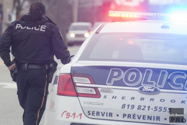 Le Service de police de Sherbrooke (SPS) diffuse mercredi le signalement d'un... (Archives La Tribune, Julien Chamberland)