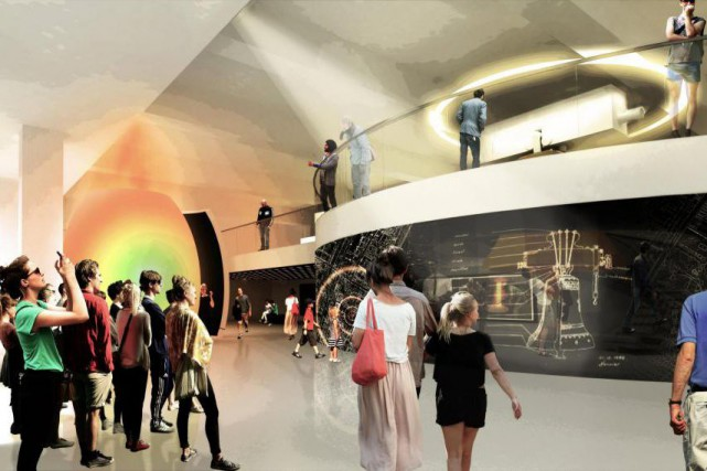 Le Musée des cloches de Montréal misera sur... (Image fournie parLemay Architecture)