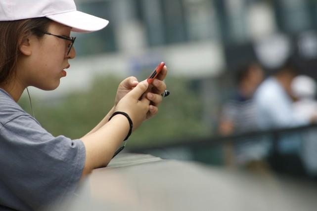 Dans les grandes villes chinoises, le paiement mobile... (REUTERS)