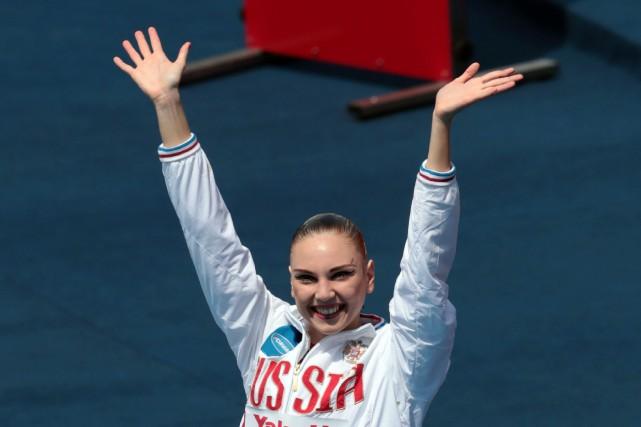 Svetlana Kolesnichenko... (Photo Ferenc Isza, Agence France-Presse)