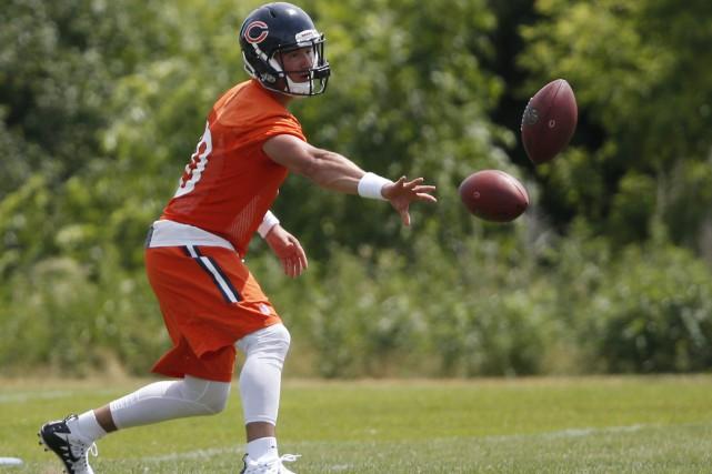 Les Bears de Chicago ont mis sous contrat... (PHOTO AP)