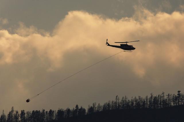 L'état d'urgence EN Colombie-Britannique concernant les feux de... (PHOTO Ben Nelms, REUTERS)