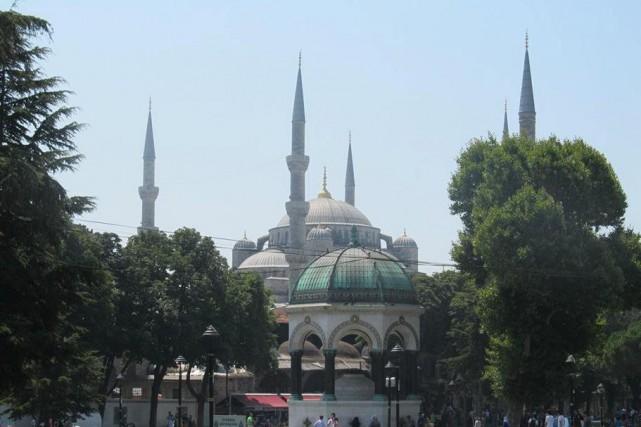 La basilique Sainte-Sophie a été transformée en mosquée... (collaboration spéciale Samuel Larochelle)